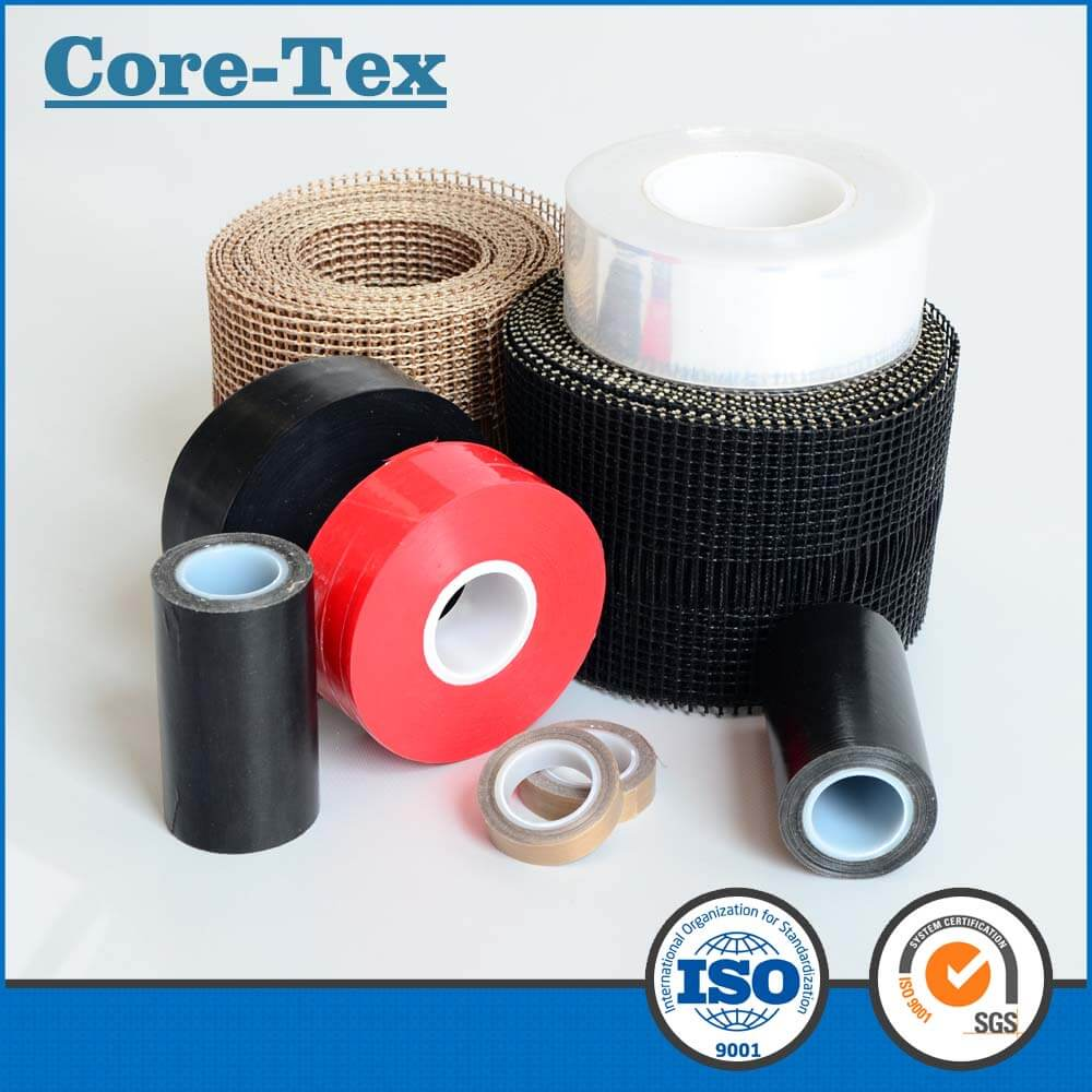 PTFE mesh conveyor belt for heat transfer processing