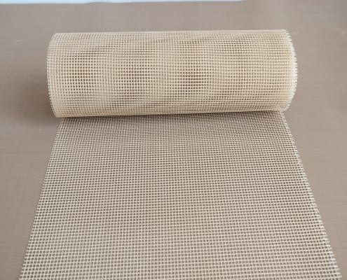 Teflon mesh belt